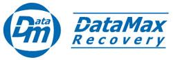 Logo Data Max Recovery, firmy odzyskującej dane